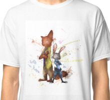 Nick and Judy Zootopia Classic T-Shirt