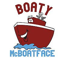 Boaty McBoatface Photographic Print