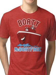Boaty McBoatface Tri-blend T-Shirt