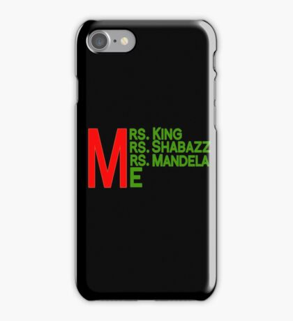 Mrs. and Me iPhone Case/Skin