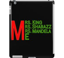 Mrs. and Me iPad Case/Skin