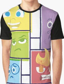 Composition of Emotions Graphic T-Shirt