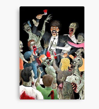 Jules Vs The Undead Canvas Print