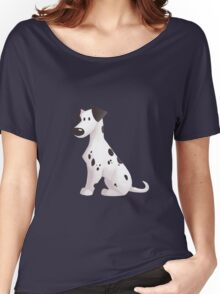 Cute Dalmatian Dog Women's Relaxed Fit T-Shirt