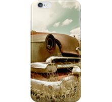 Abandoned 1954 Chevy Belair iPhone Case/Skin