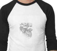 Ross Morgan - Wooden Train Men's Baseball ¾ T-Shirt