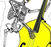 Psychobilly double bass Sticker
