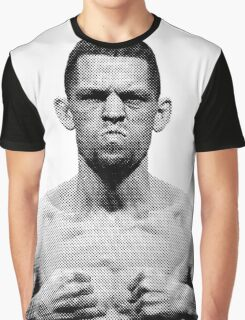 Nate Diaz UFC - Not Surprised Graphic T-Shirt