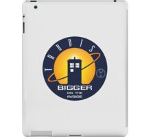TARDIS - Bigger on the Inside iPad Case/Skin