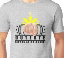 Duterte Campaign Design Illustration Unisex T-Shirt