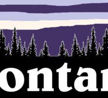 Purple Montana Sticker