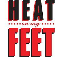 Heat on my Feet - Bred Photographic Print