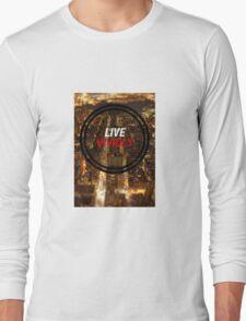 Live Vividly Long Sleeve T-Shirt