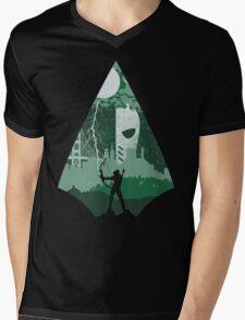 Arrow Deathstroke Mens V-Neck T-Shirt