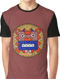 Shisa Dog Graphic T-Shirt