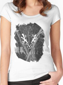 Roaming (Brushed) Women's Fitted Scoop T-Shirt