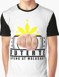 Duterte Campaign Design Illustration Graphic T-Shirt