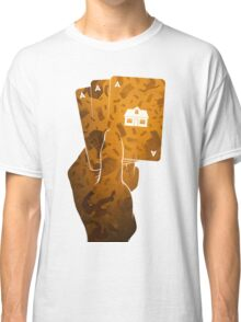 MAGICIAN & GAMBLER .. THEY BOTH CAN MAKE STUFF DISSAPEAR Classic T-Shirt