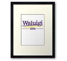 Waluigi 2016 Framed Print