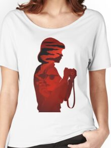 GIRL & CAMERA Women's Relaxed Fit T-Shirt