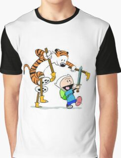 adventure time calvin hobbes Graphic T-Shirt