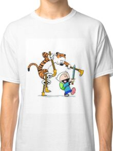 adventure time calvin hobbes Classic T-Shirt