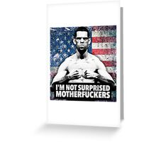 Nate Diaz UFC Greeting Card
