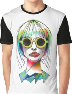 Modern Art   Vibrant Design   Contemporary   Abstract Graphic T-Shirt