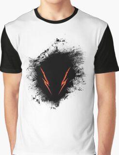Berserk Hound Splatter Graphic T-Shirt