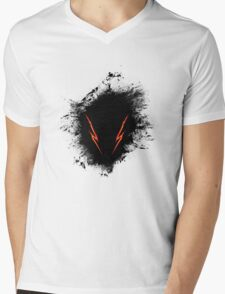 Berserk Hound Splatter Mens V-Neck T-Shirt