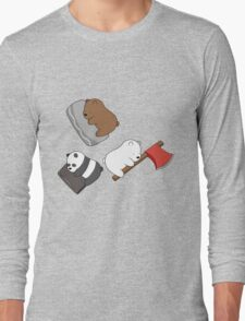 We bare tree baby bears Long Sleeve T-Shirt