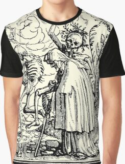 Totentanz, Dance of macabre (Holbein) Graphic T-Shirt