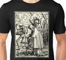 Totentanz, Dance of macabre (Holbein) Unisex T-Shirt