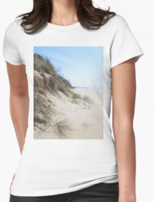 90 Mile Beach Womens Fitted T-Shirt