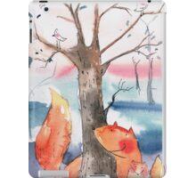 Spring foxes iPad Case/Skin