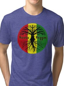 ROOTS REGGAE Tri-blend T-Shirt