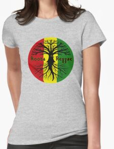 ROOTS REGGAE Womens Fitted T-Shirt