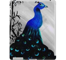 peacock in sterling iPad Case/Skin
