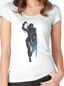 Lara Croft - Rise of the Tomb Raider Women's Fitted Scoop T-Shirt