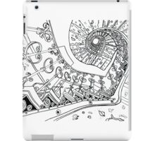 Spiral Decay Illustration iPad Case/Skin