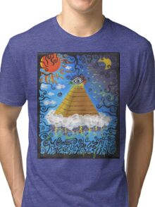 Eye is Always Watching U Tri-blend T-Shirt