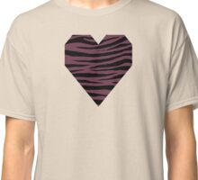 0463 Old Mauve or Wine Dregs Tiger Classic T-Shirt