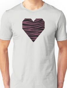 0463 Old Mauve or Wine Dregs Tiger Unisex T-Shirt