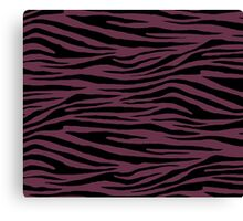 0463 Old Mauve or Wine Dregs Tiger Canvas Print
