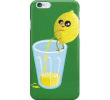 Lemonade Lemon Pee iPhone Case/Skin