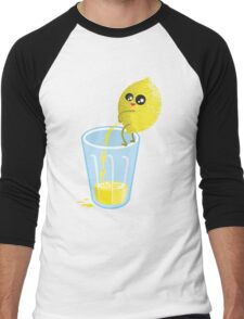 Lemonade Lemon Pee Men's Baseball ¾ T-Shirt