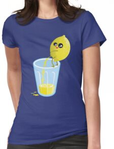 Lemonade Lemon Pee Womens Fitted T-Shirt
