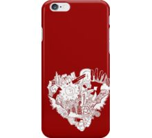 SPN love (red) iPhone Case/Skin