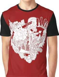 SPN love (red) Graphic T-Shirt