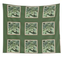 Greens Of Hens And Chicks Wall Tapestry